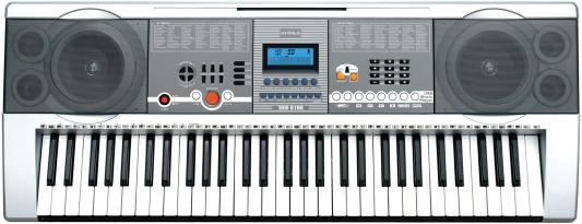Синтезатор Supra SKB-610U 61 клавиша серебристый supra skb 614