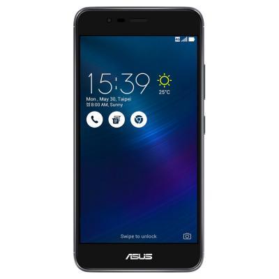 "Смартфон ASUS ZenFone 3 Max ZC520TL титан 5.2"" 16 Гб LTE Wi-Fi GPS 90AX0086-M00310"