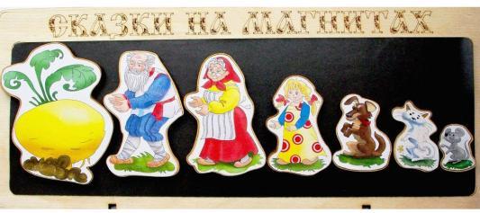 """Кукольный театр Бэмби """"Сказки на магнитах"""" - Репка 8 предметов  к-0543/1"""