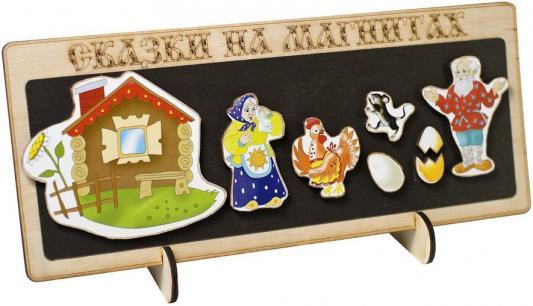 Кукольный театр Бэмби Курочка Ряба 8 предметов к-0543/6 бэмби игрушка деревянная матрёшка курочка ряба бэмби