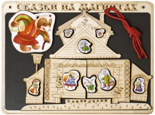 Кукольный театр Бэмби Теремок 17 предметов К-0543/8 обучающая игра нескучные игры сказки на магнитах теремок к 0543 8