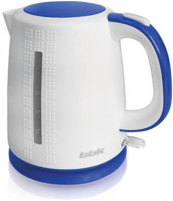 Чайник BBK EK1730P 2200 Вт белый голубой 1.7 л пластик