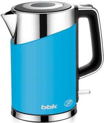 Чайник BBK EK1750P 2200 Вт голубой 1.7 л металл/пластик bbk ek1750p red