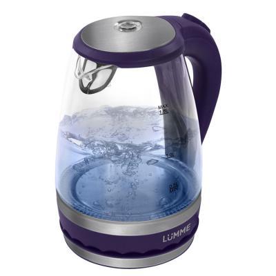 Чайник Lumme LU-220 2200 Вт синий 1.8 л пластик/стекло