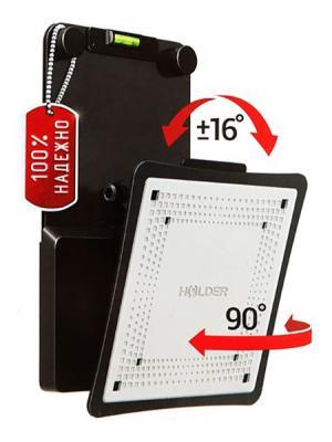 "Кронштейн Holder LCD-M1803 черный для ЖК ТВ 10-32"" настенный поворот наклон до 30 кг"