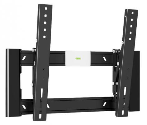 "Кронштейн Holder LCD-SU1805 черный для ЖК ТВ 10-32"" настенный поворот наклон до 30 кг"