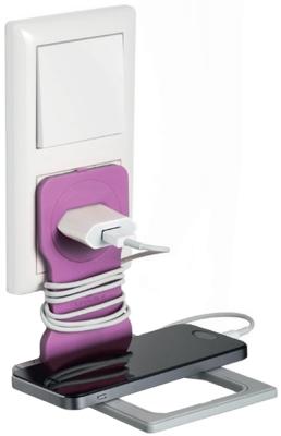 Держатель Durable Varicolor 7735-08 для смартфонов розовый durable varicolor orange держатель для мобильного телефона