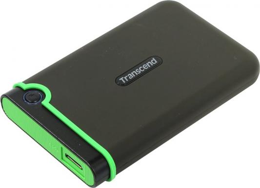 "Внешний жесткий диск 2.5"" USB3.1 1 Tb Transcend StoreJet 25MC TS1TSJ25MC черный"