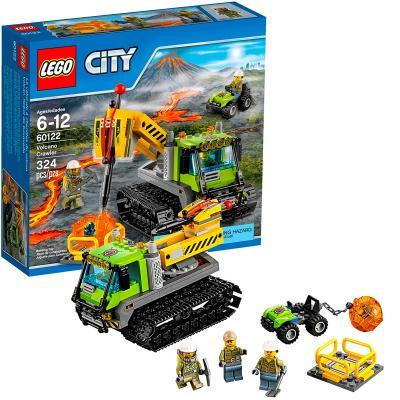 Конструктор Lego City Вездеход исследователей вулканов 324 элемента 60122