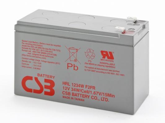HRL1234W F2FR 12V батарея аккумуляторная csb gp1272 f2