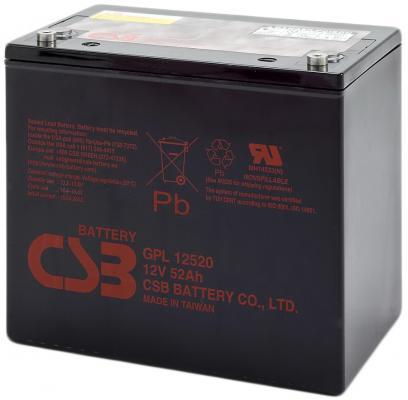 Батарея CSB GPL12520 12V/52AH
