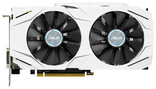 Видеокарта 6144Mb ASUS GeForce GTX1060 Dual PCI-E 192bit GDDR5 DVI HDMI DP DUAL-GTX1060-6G Retail