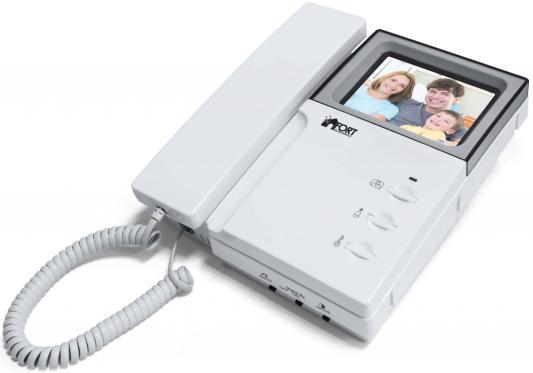 Видеодомофон FORT Automatics C0406 с аналоговым блоком сопряжения