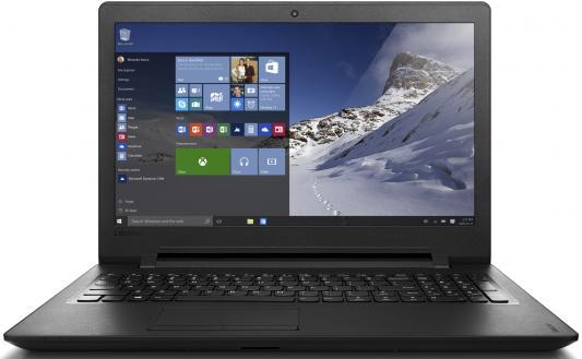 Ноутбук Lenovo IdeaPad 110-15IBR 15.6 1366x768 Intel Pentium-N3710 80T7003JRK ноутбук lenovo ideapad 110 15ibr intel n3710 4gb 1tb 15 6 win10 black