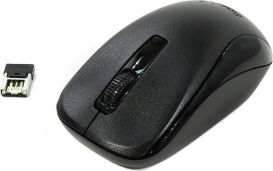 Мышь беспроводная Genius NX-7005 чёрный USB + радиоканал genius kb m220 usb