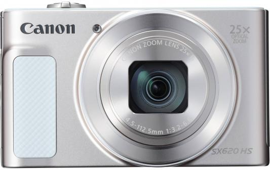 Фотоаппарат Canon PowerShot SX620 HS 20Mp 25xZoom белый 1074C002