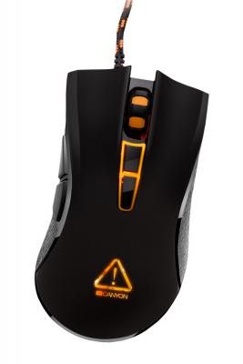 Мышь проводная Canyon Fobos CND-SGM3 чёрный USB цены онлайн