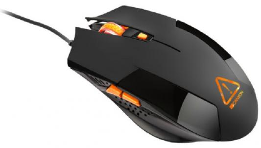 Мышь проводная Canyon Vigil чёрный USB CND-SGM2 цены онлайн