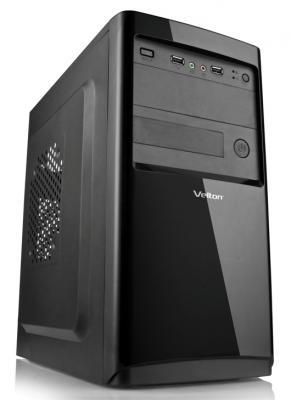 Корпус microATX Velton 7802A-D 400 Вт чёрный