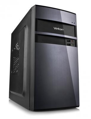 Корпус microATX Velton 7801A-D 400 Вт чёрный