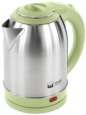 Чайник HOME ELEMENT HE-KT155 1800 Вт серебристый фисташковый 2 л нержавеющая сталь