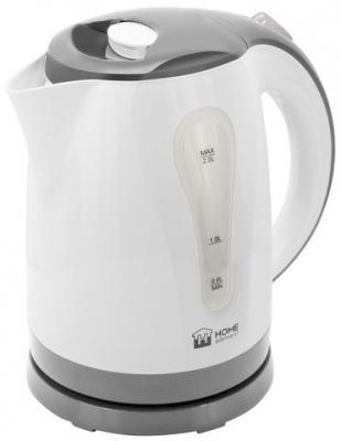 Чайник HOME ELEMENT HE-KT156 2200 Вт белый серый 2 л пластик