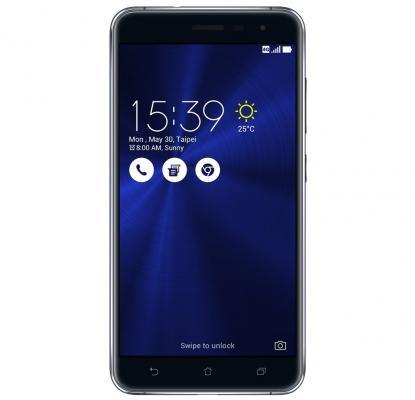 Смартфон ASUS Zenfone 3 ZE552KL черный 5.5 64 Гб LTE Wi-Fi GPS 3G 90AZ0121-M01140 asus zenfone zoom zx551ml 128gb 2016 black