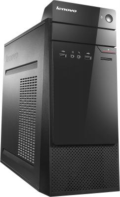 Системный блок Lenovo S200 J3060 4Gb 500Gb Intel HD DVD-RW Win10 клавиатура мышь черный 10HR001GRU
