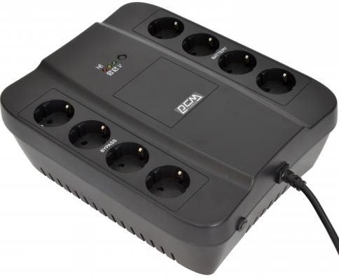 ИБП Powercom Spider SPD-1000N 550Вт 1000ВА черный ибп powercom spider spd 1000n 550вт 1000ва черный