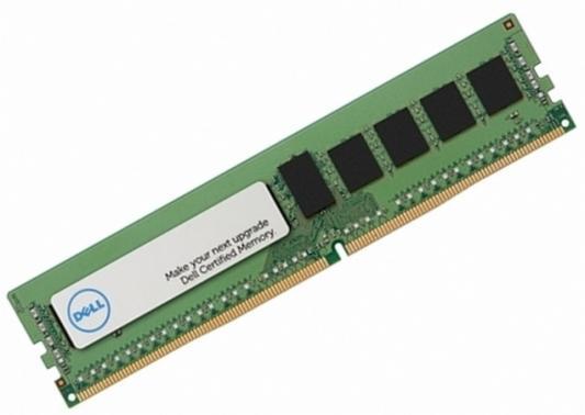 Оперативная память 8Gb PC4-19200 2400MHz DDR4 DIMM Dell 370-ACNR модуль оперативной памяти сервера dell 370 acnr 8gb ddr4 370 acnr