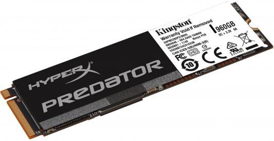 Твердотельный накопитель SSD M.2 960 Gb Kingston Predator PCIe SSD Read 1350Mb/s Write 1000Mb/s SHPM2280P2/960G ssd kingston predator pcie shpm2280p2h 480g