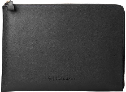 Чехол для ноутбука 13.3 HP W5T46AA сплит-кожа черный чехол для ноутбука hp v5c25aa