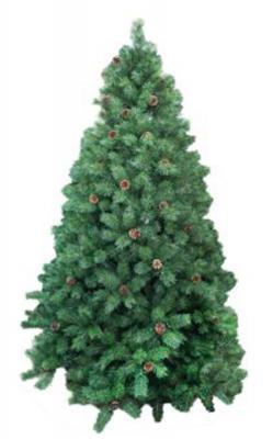 Ель Новогодняя сказка Венская с шишками зеленый 120 см 238 веток