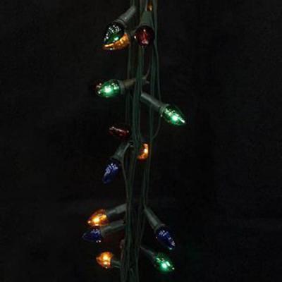 Гирлянда электрическая Новогодняя сказка Свечи цв. перламутровые, 100 миниламп