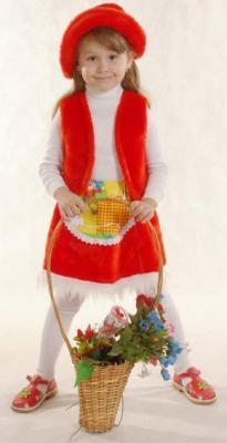 Карнавальный костюм Костюмы Красная шапочка костюмы красная шапочка к 041