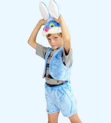 Карнавальный костюм Костюмы Заяц (головной убор, жилет, шорты) в асс-те К-013