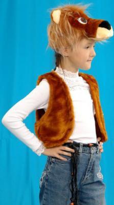 Карнавальный костюм Костюмы Лев (головной убор, жилет) до 9 лет К-020 карнавальные костюмы rio карнавальный костюм флорелина