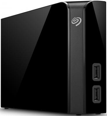 Внешний жесткий диск 3.5 USB3.0 4Tb Seagate Backup Plus Hub STEL4000200 черный 3 5 8000gb seagate stel8000200 usb3 0 backup plus hub черный