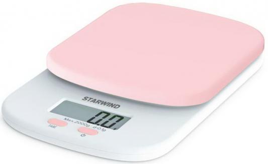 Весы кухонные StarWind SSK2157 розовый