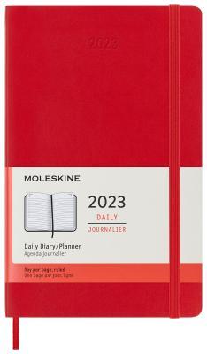 Ежедневник датированный Moleskine Classic Daily Large Soft A6 искусственная кожа
