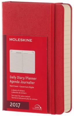 moleskine ежедневник Ежедневник датированный Moleskine Classic Daily Pocket A6 искусственная кожа