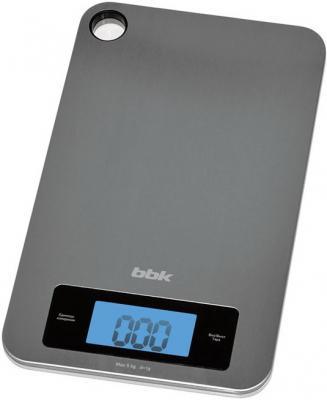 Весы кухонные BBK KS152M серебристый кухонные весы sinbo весы кухонные sinbo sks 4514 серебристый