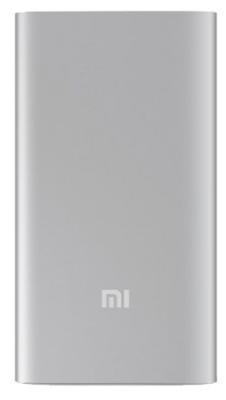 Портативное зарядное устройство Xiaomi  Power Bank 5000mAh серебристый NDY-02-AM
