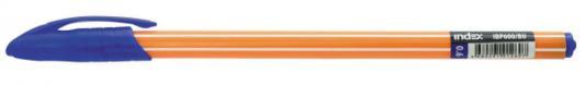 Шариковая ручка Index синий 0.6 мм IBP600/BU