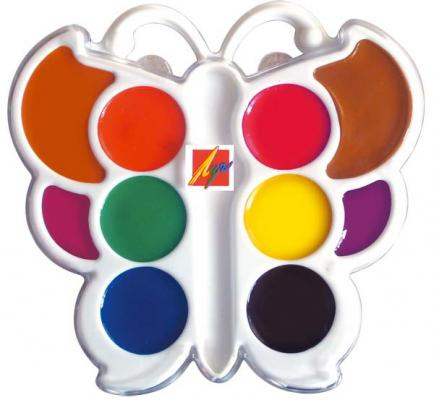 Акварель Луч Бабочка 10 цветов 10С548-08 акварель луч престиж с золотом и серебром new 12 цветов 18с1231 08