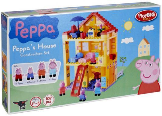 Конструктор BIG Любимый дом Peppa Pig 107 элементов