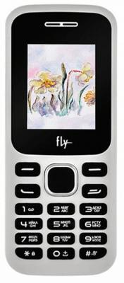 """Мобильный телефон Fly FF178 белый 1.77"""" 32 Мб"""