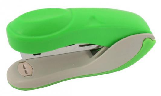 Степлер COLOURPLAY, скоба №10, на 15 листов, пластиковый корпус, неоновый зеленый