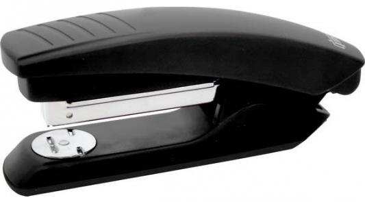 Степлер, скоба №24/6, на 20 листов, пластиковый корпус, черный