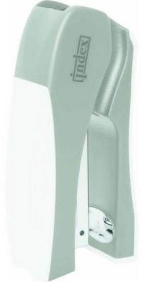 Cтеплер, скоба № 24/6, на 20 листов, пластиковый корпус, вертикальный, сер/бел apple wireless keyboard rus сер бел